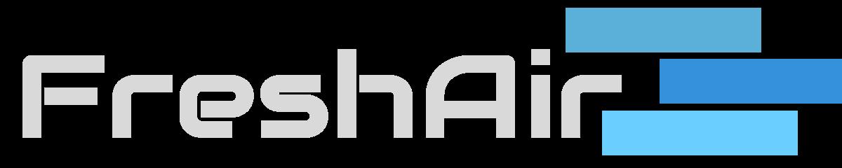 Freshair teljes logó